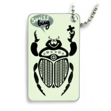 swiss bug (travel tag), orange