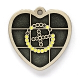 "my geoheart geocoin ""a smile in the dark#8221; 