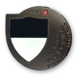 frirbourg geocoin | black nickel (se)