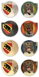 berne geocoins | set of 4 with gold (xle)
