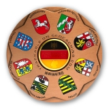 germania geocoin | antique copper