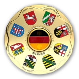 germania geocoin | gold