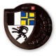 grisons (graubünden) geocoin | black nickel (se)