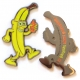 gone bananas geocoin | black nickel (re)