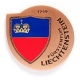 liechtenstein geocoin | antique copper