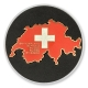 love switzerland geocoin | gold