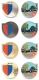 ticino geocoins | set of 4 incl. gold (xle)