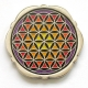 flower of life geocoin | nickel (re2)