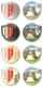 valais geocoins | set of 4 incl. gold (xle)