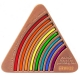 rainbow geocoin | black nickel